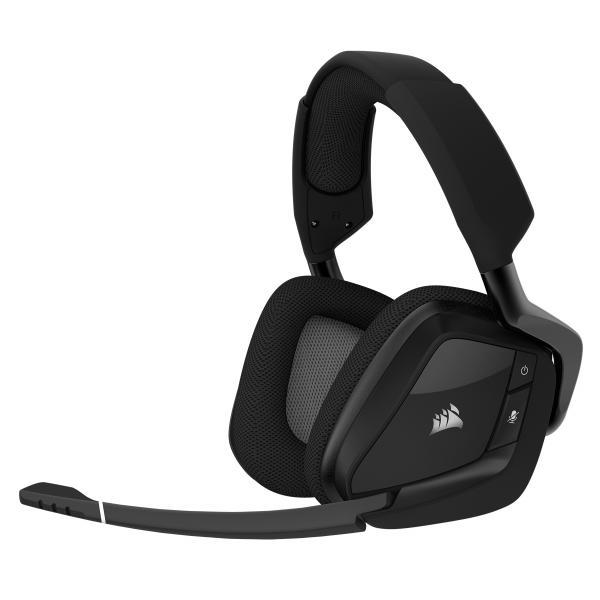 Corsair VOID PRO RGB Wireless Premium Stereofonico Padiglione auricolare Carbonio cuffia e auricolare 0843591019347 CA-9011152-EU TP2_CA-9011152-EU