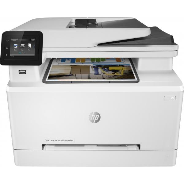 HP Color LaserJet Pro MFP M281fdn Prntr HP Color LJ Pro MFP M281fdn Prntr:EU - T6B81A#B19