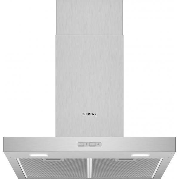 Siemens iQ100 LC64BBC50 cappa aspirante 340 m³/h Cappa aspirante a parete Acciaio inossidabile D