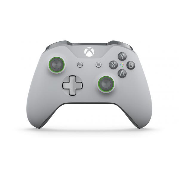 Microsoft WL3-00061 periferica di gioco Gamepad Xbox One S Analogico RF Verde, Grigio