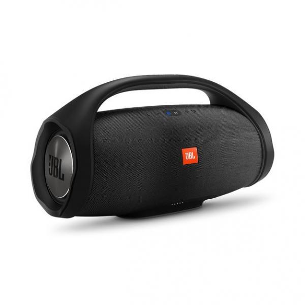 Speaker Portatile BoomBox Wireless Bluetooth Waterproof Batterie Ricaricabili Microfono Vivavoce JBL Connect+ Colore Nero