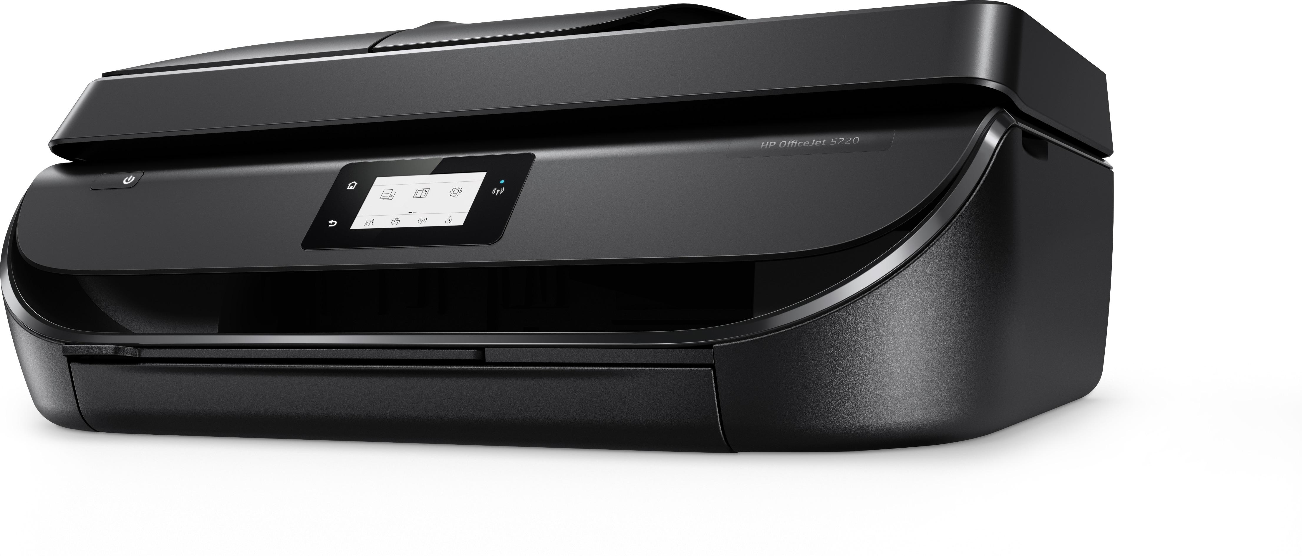 HP OfficeJet 5220 Ad inchiostro 10 ppm 4800 x 1200 DPI A4 Wi-Fi