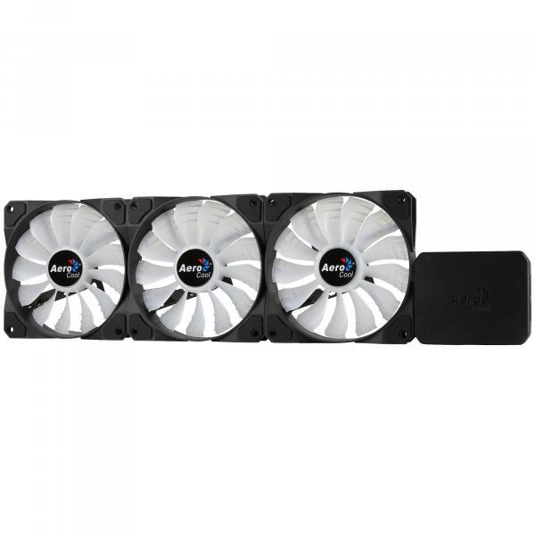 Aerocool P7-F12 Pro Kit composto dal P7-H1 e 3 P7-F12 LED RGB