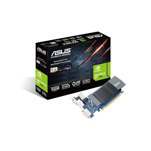 SVGA ASUS NVIDIA GT710 1GB DDR5 64Bit VGA+DVI+HDMI PCI-E 2.0