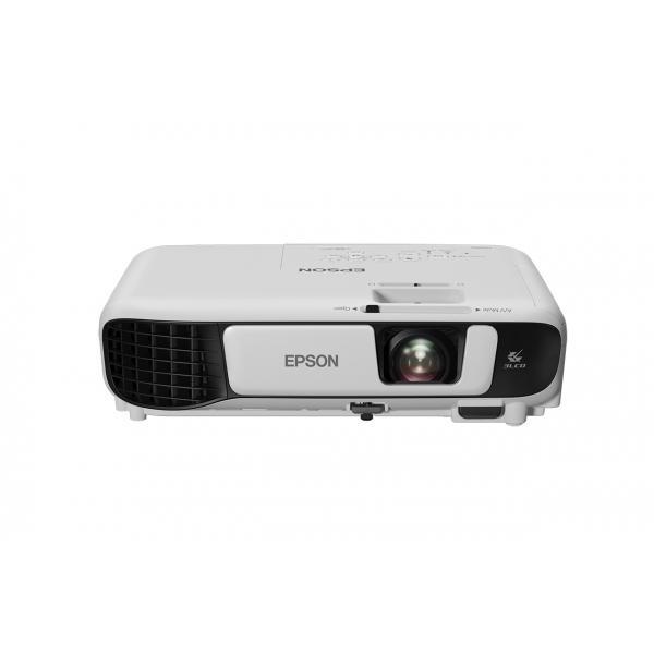 VIDEOPROIETTORE EPSON EB-W41 3LCD WXGA 3600/15000:1 Lampada 10000h Eco 2,5kg Altoparlante 2W MHL Telecomando e cavo alimentazion