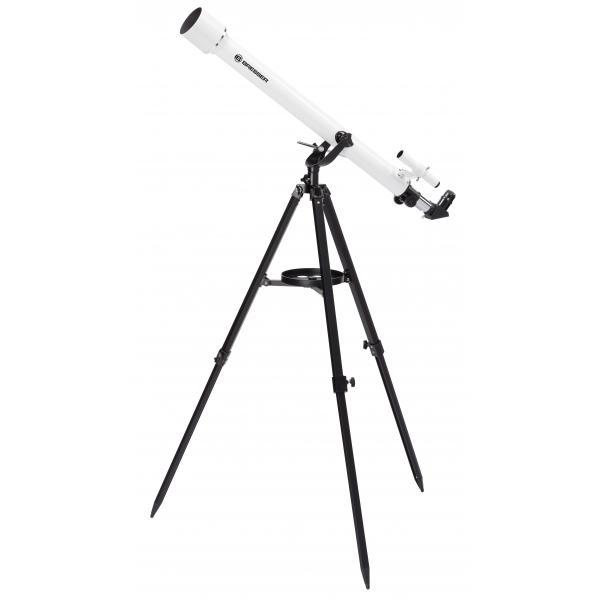 Bresser Optics CLASSIC 60/900 AZ Rifrattore 338x Nero, Bianco