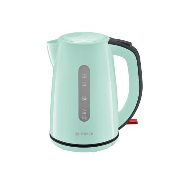 Bosch TWK7502 Wasserkocher kabellos 1,7l türkis