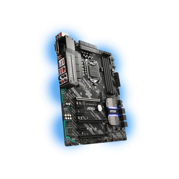 MB MSI Z370 TOMAHAWK (COFFELAKE) LGA1151 4DDR4 DVI+HDMI 4*PCIe 2*M.2 6*SATA3 RAID 6*USB - ATX