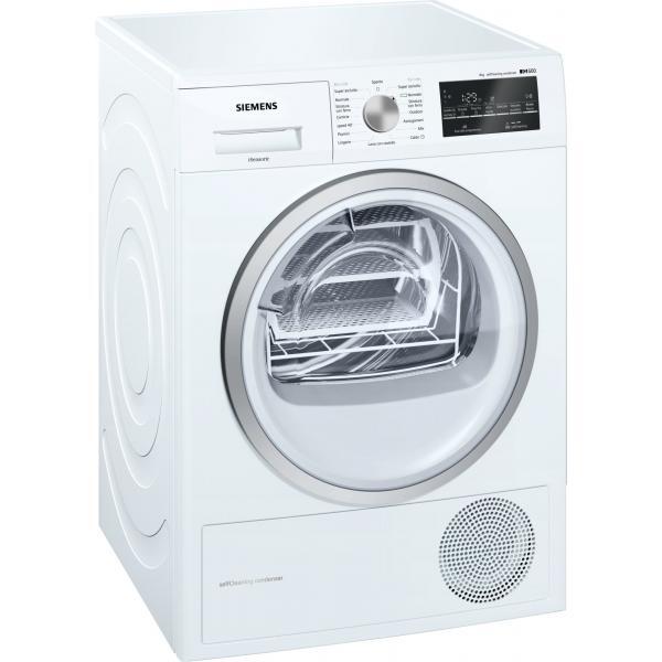 Siemens iQ300 WT47W468II Libera installazione Carica frontale 8kg A++ Bianco asciugatrice  WT47W468II TP2_WT47W468II