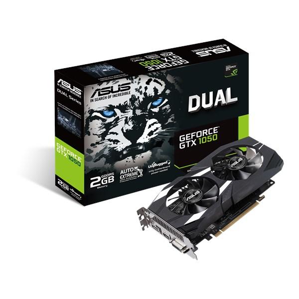ASUS Dual GeForce GTX 1050 GeForce GTX 1050 2GB GDDR5 4712900826036 DUAL-1050-2G-V2 TP2_DUAL-1050-2G-V2