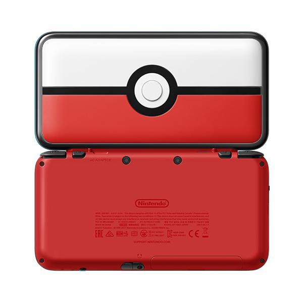 Nintendo New 2DS XL Pokeball Edition 4.88
