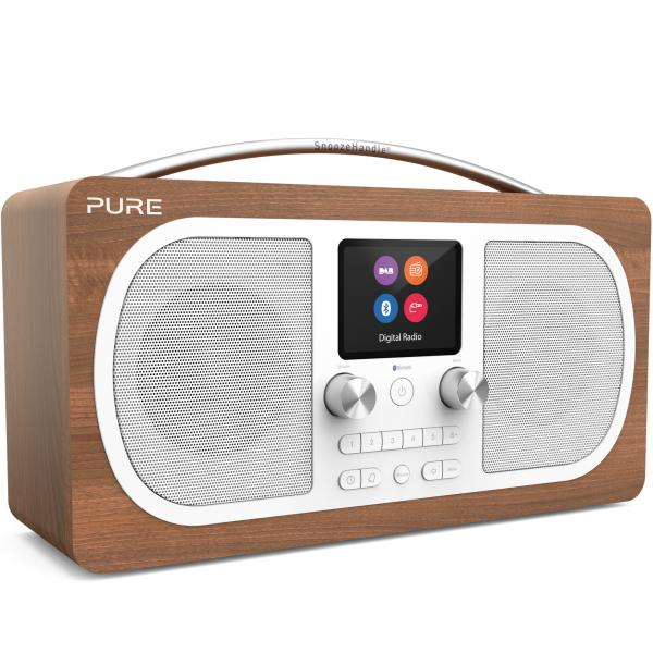 RADIO FM DAB+ BLUETOOTH EVOKE H6 NOCE