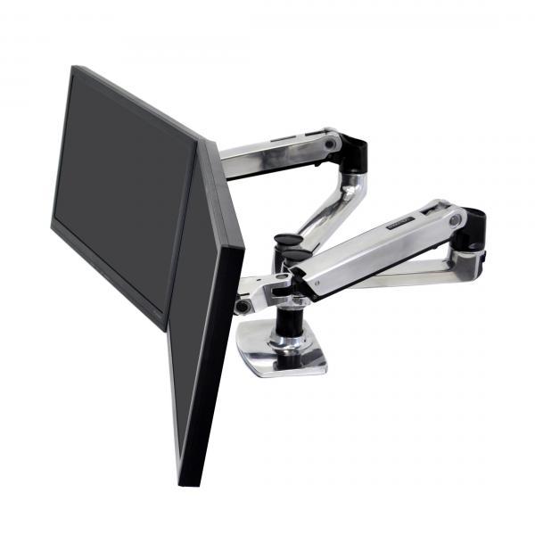 Ergotron LX Series Dual Side-by-Side Arm 27