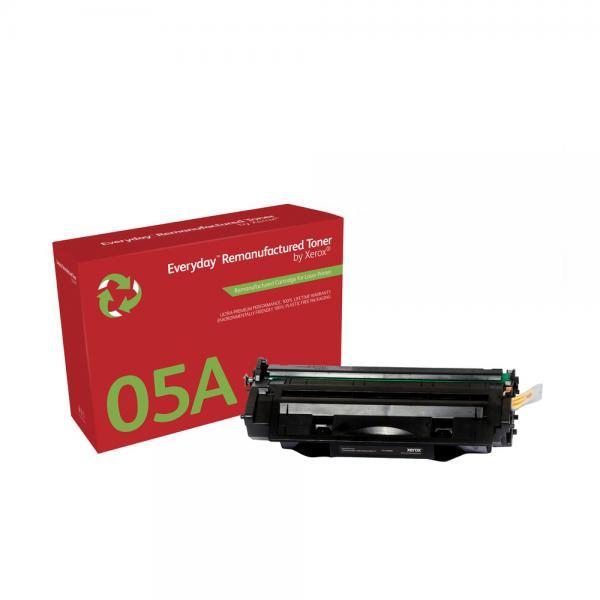 Xerox Xerox Cartuccia toner nero. Equivalente a HP CE505A. Compatibile con HP LaserJet P2035, LaserJet P2055