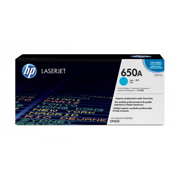 HP Color LaserJet CP5520 Cyan printcartridge - CE271A