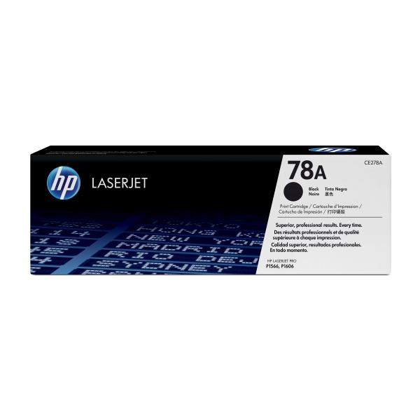 HP LaserJet P1566/P1606 Black Print Crtg - CE278A
