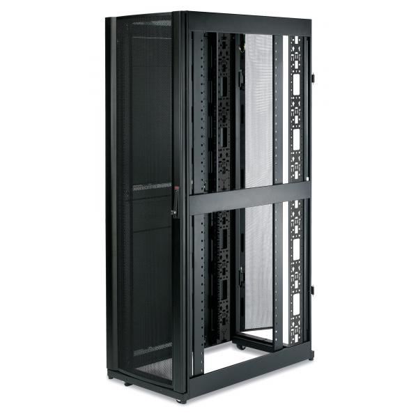 APC NetShelter SX 42U 600mm Wide x 1070mm Deep Enclosure with Sides Black Nero rack 0731304226390 AR3100 03_AR3100