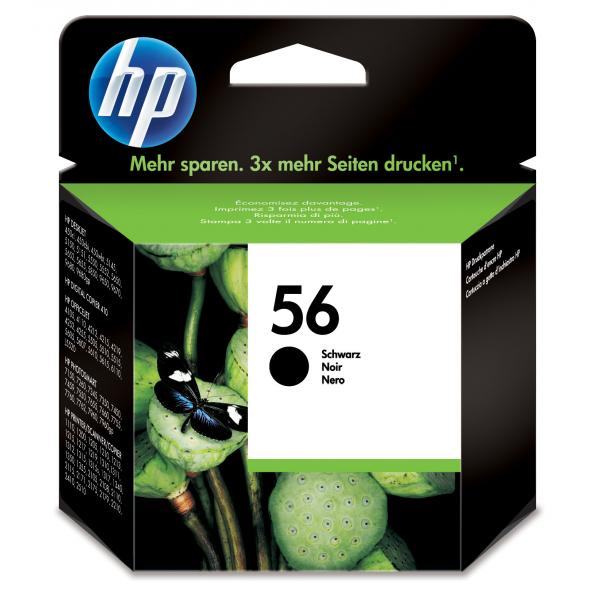 HP HP C6656AE cartuccia d'inchiostro Nero