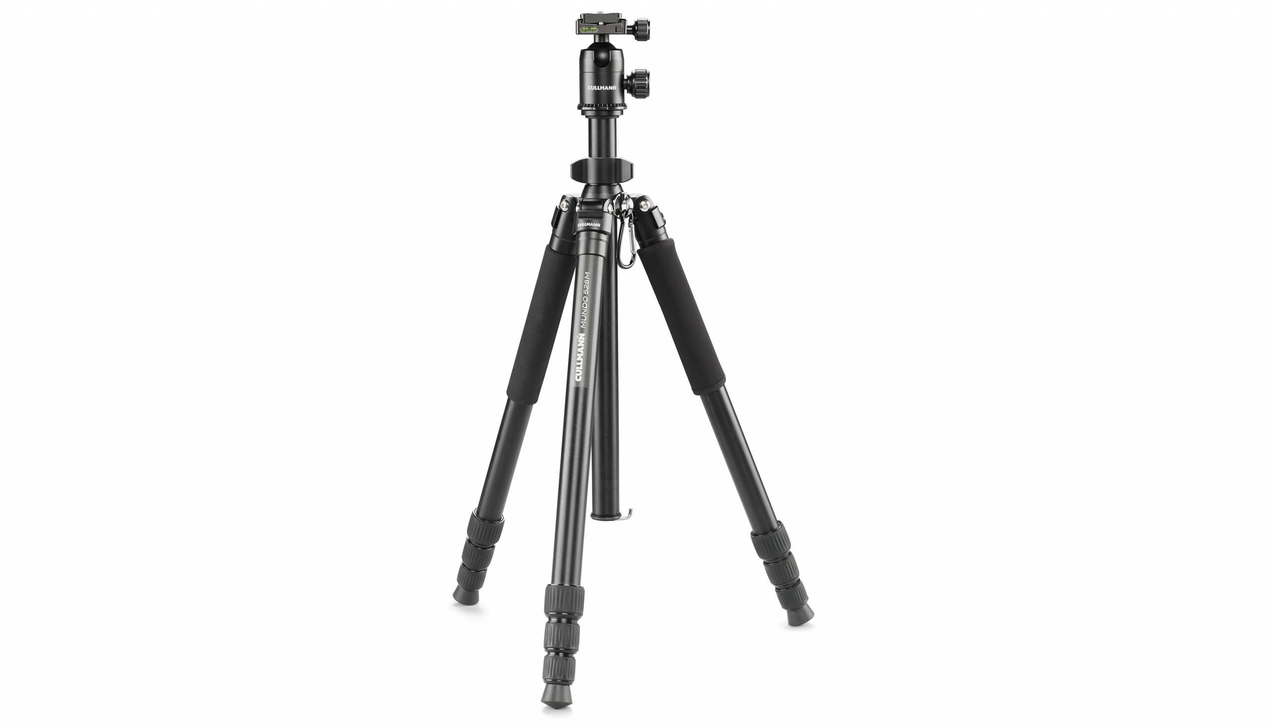 Cullmann Mundo 528M treppiede Fotocamere digitali/film 3 gamba/gambe Nero