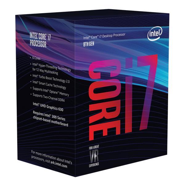 Intel Core i7-8700T processore 2,4 GHz 12 MB Cache intelligente