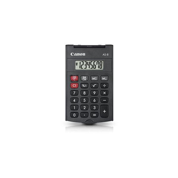 Canon AS-8 Tasca Calcolatrice con display Grigio 4960999673615 4598B001 10_242Q328