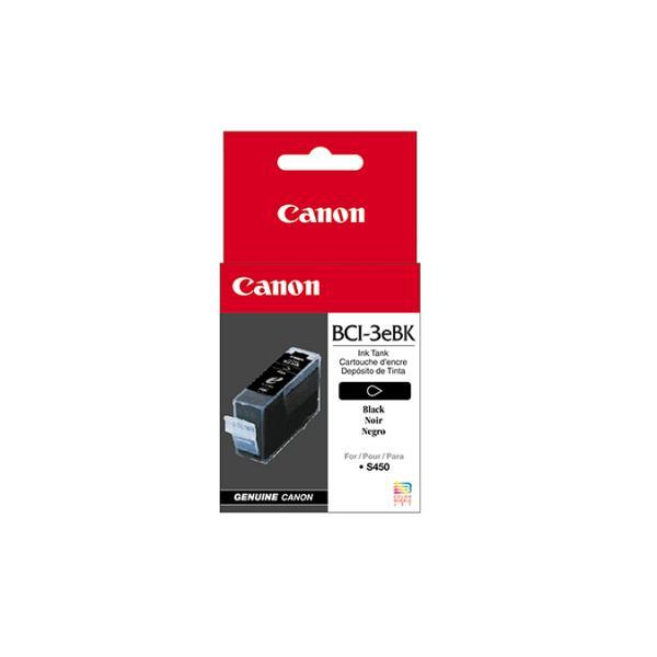 CANON - SUPPLIES INK HV BCI-3EBK CARTUCCIA NERO BJC6000 6500 3000 S400 I865 S750 I560
