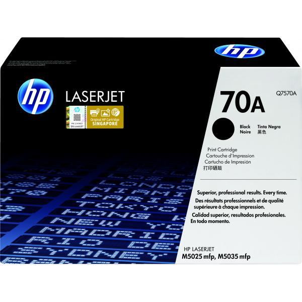 HP LaserJet Q7570A zwarte printcartridge met smart printing technologie - Q7570A