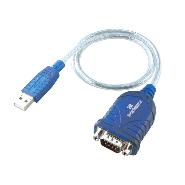 i-tec i-tec USBSEAD USB RS-232 Blu, Trasparente cavo di interfaccia e adattatore