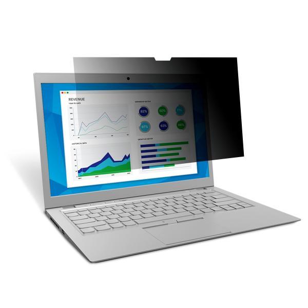 3M Filtro privacy tocco per laptop a schermo intero da 13,3