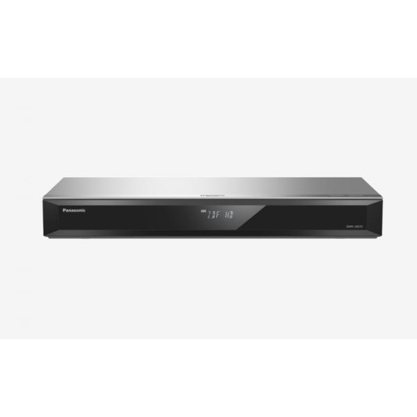 Panasonic DMR-UBS70EGS UHD Blu-ray Recorder 500GB HDD 2x DVB-S Tuner Silber