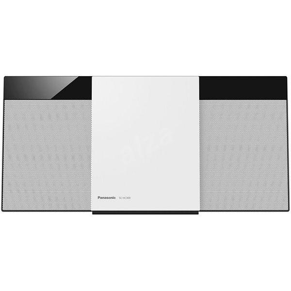 Mini impianto Stereo Panasonic Corp. SCHC300EGW HiFi Bluetooth 20W Bianco