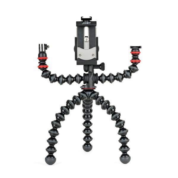 Joby GorillaPod Mobile Rig treppiede Smartphone/Tablet 3 gamba/gambe Nero, Corallo