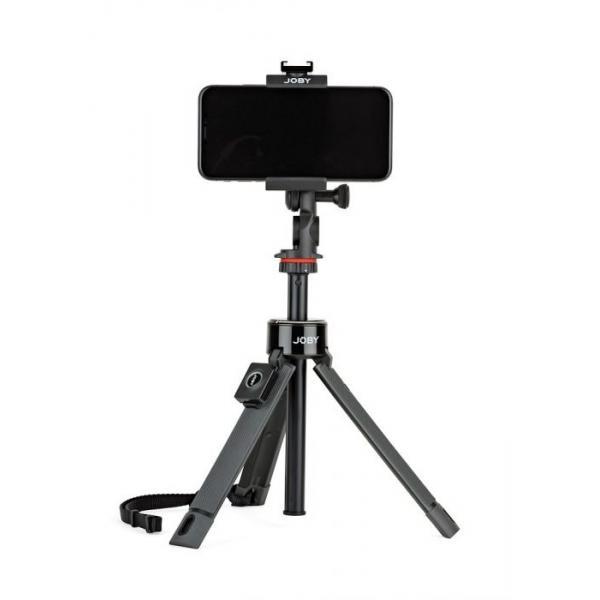 Joby GripTight PRO treppiede Smartphone/Action camera 3 gamba/gambe Nero
