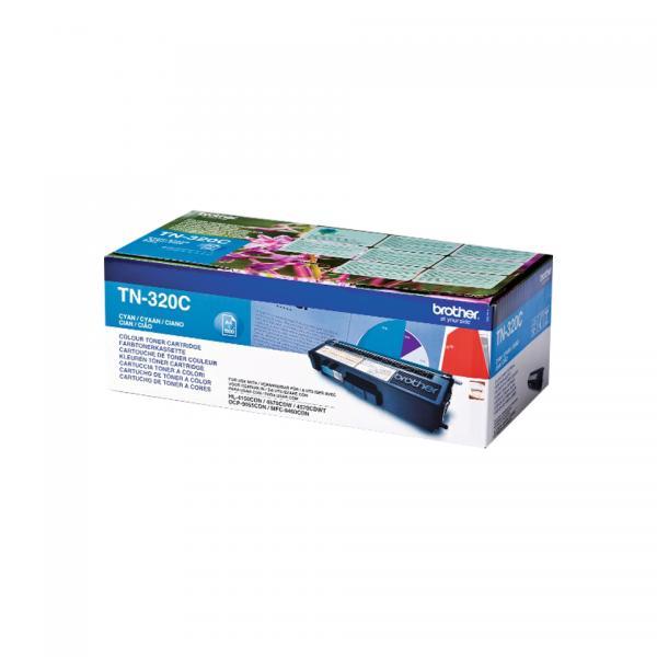 Brother TN-320C Cartuccia 1500pagine Ciano cartuccia toner e laser 4977766679350 TN320C 10_5833662