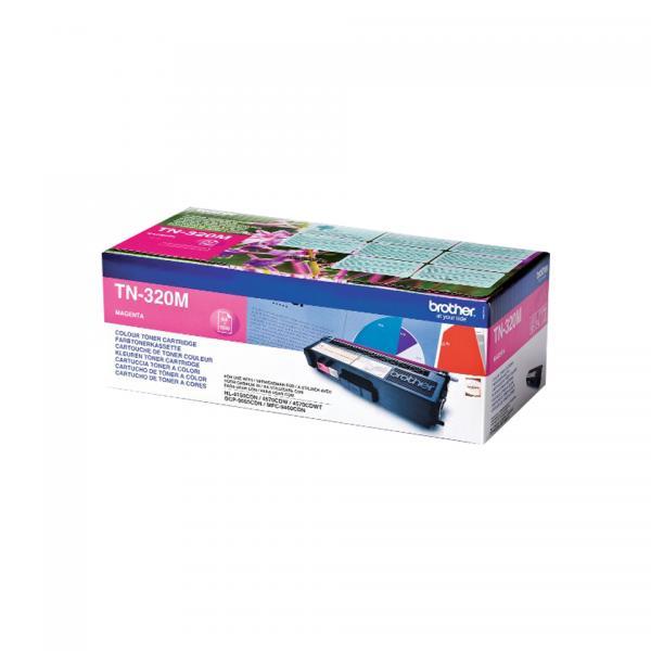 Brother TN-320M Cartuccia 1500pagine Magenta cartuccia toner e laser 4977766679367 TN-320M 14_TN320M