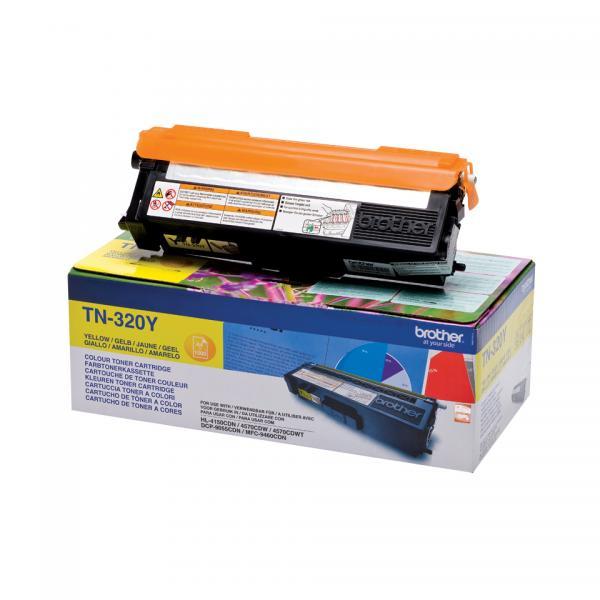 Brother TN-320Y Toner laser 1500pagine Giallo cartuccia toner e laser 4977766679374 TN320Y 10_5833693