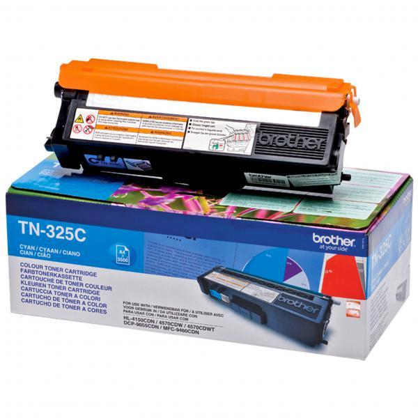 Brother TN-325C Cartuccia 3500pagine Ciano cartuccia toner e laser 4977766679398 TN-325C 14_TN325C