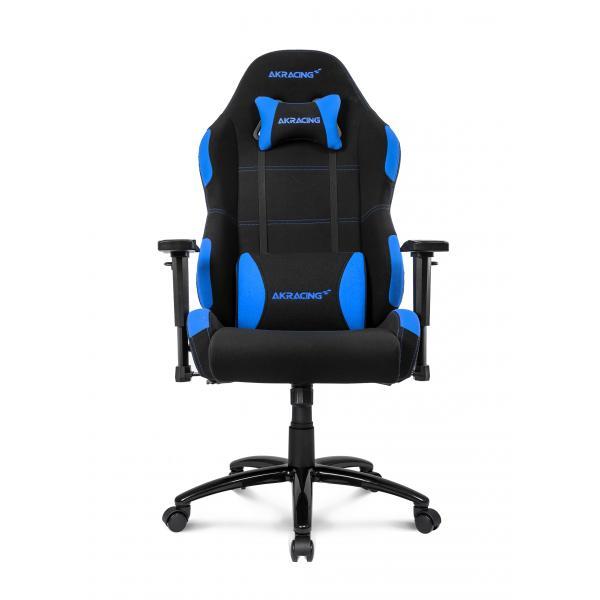 AKRacing EX-Wide Sedia da gaming per PC Sedia imbottita tappezzata Nero, Blu