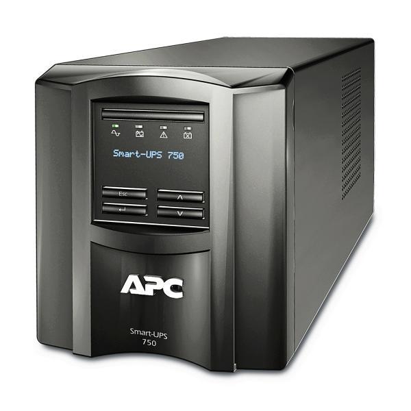 APC APC by Schneider Electric SMT750IC 750VA Uninterruptible Power Supply - Black gruppo di continuità (UPS) 6 presa(e) AC A linea interattiva