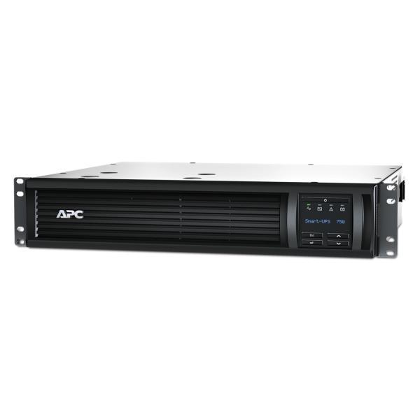 APC APC by Schneider Electric SMT750RMI2UC 750VA Uninterruptible Power Supply - Black gruppo di continuità (UPS) 4 presa(e) AC A linea interattiva