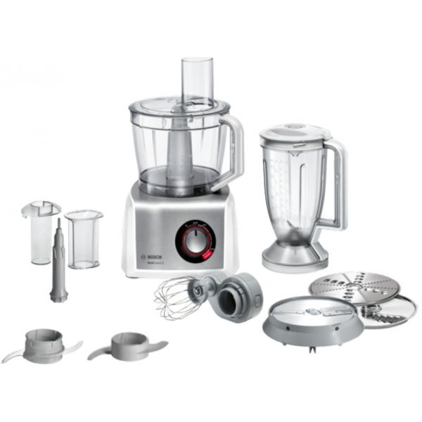 Bosch MC812S814 Küchenmaschine 1250W weiß/Edelstahl
