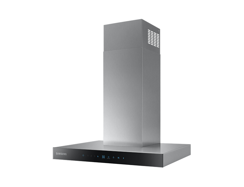 Samsung NK24N5703BS 722 m³/h Cappa aspirante a parete Nero, Argento A