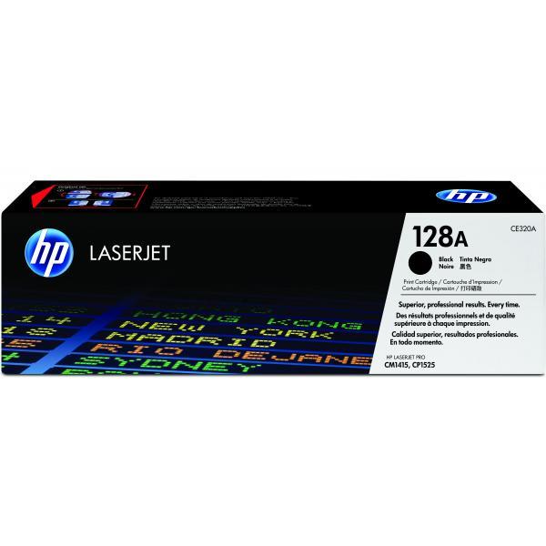 HP Cartuccia Toner originale nero LaserJet 128A 0884420854500 CE320A COM_49334