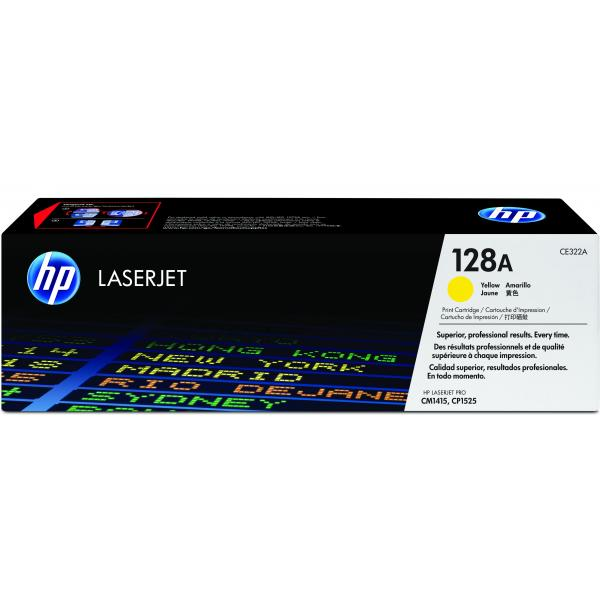HP Cartuccia Toner originale giallo LaserJet 128A 0884420854524 CE322A COM_49336