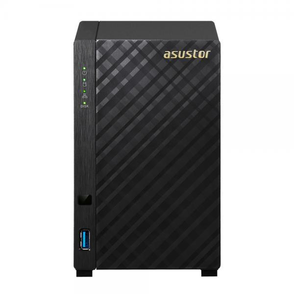 ASUS AS1002T v2 Collegamento ethernet LAN Nero NAS
