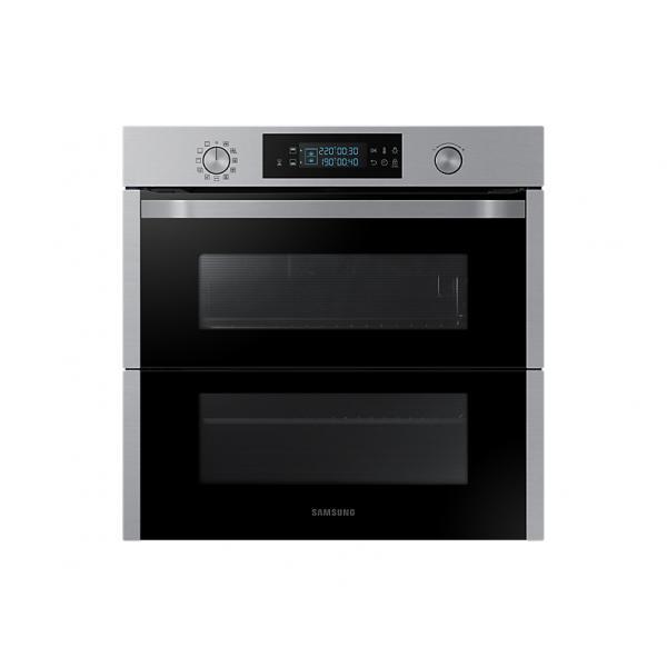 Samsung NV75N5641RS - Forno Multifunzione da Incasso, Dual Cook Flex, 75 Litri, A+