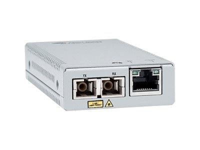 Allied Telesis AT-MMC2000LX/SC-TAA-60 convertitore multimediale di rete 1000 Mbit/s 1310 nm Modalità singola Grigio
