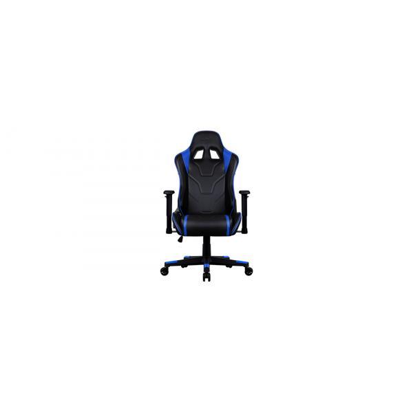 Aerocool AC220 AIR Sedia da gaming per PC Sedia imbottita tappezzata Nero, Blu