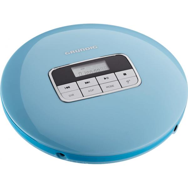 gcdp 8000gdr1401lettore CD portatile Blu