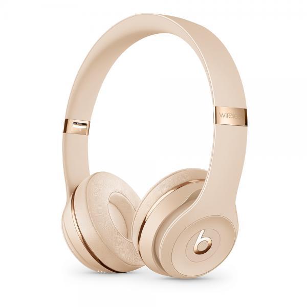 Beats Solo3 Wireless On-Ear Headphones - Satin Gold